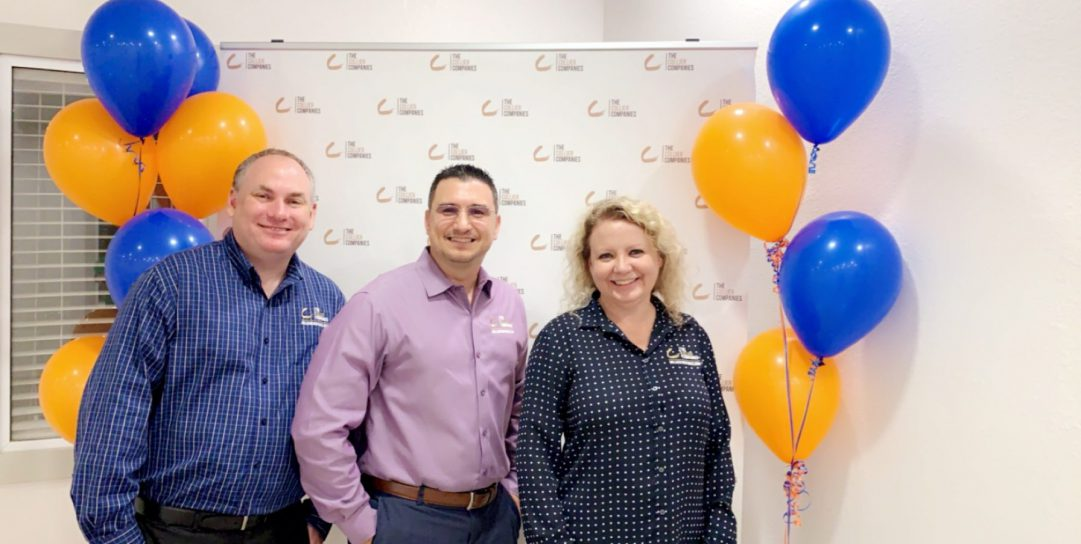 CEO Jennifer Clince and VPs of Operations, Michael Rosenblatt and Ralph Sabio enjoy College Park at Midtown Sneak Peek