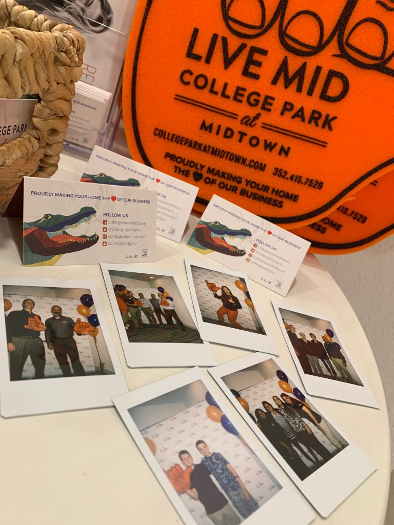 College Park at Midtown Sneak Peek Polaroids