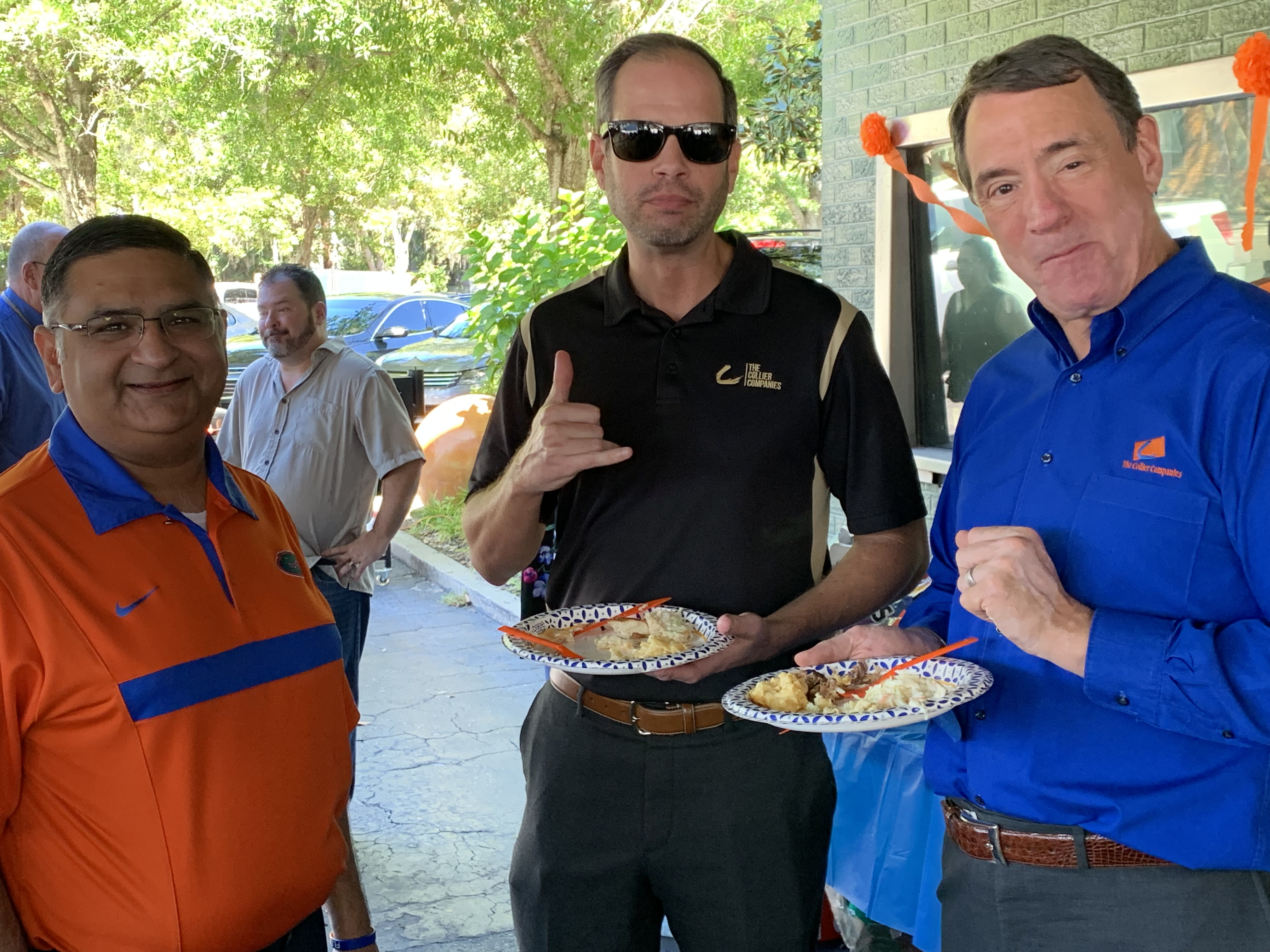 Team Members enjoy the company BBQ Luncheon
