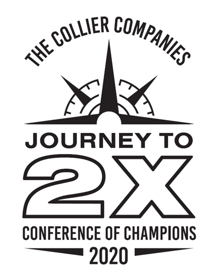 The Collier Companies' 2020 Conference logo is shown